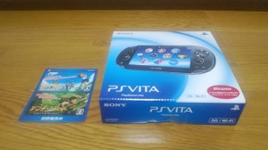 PS Vita 到着!