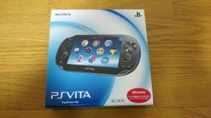 PS Vita開封!