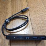 ANKER USB3.0 ウルトラスリム 4ポートハブ 60cm